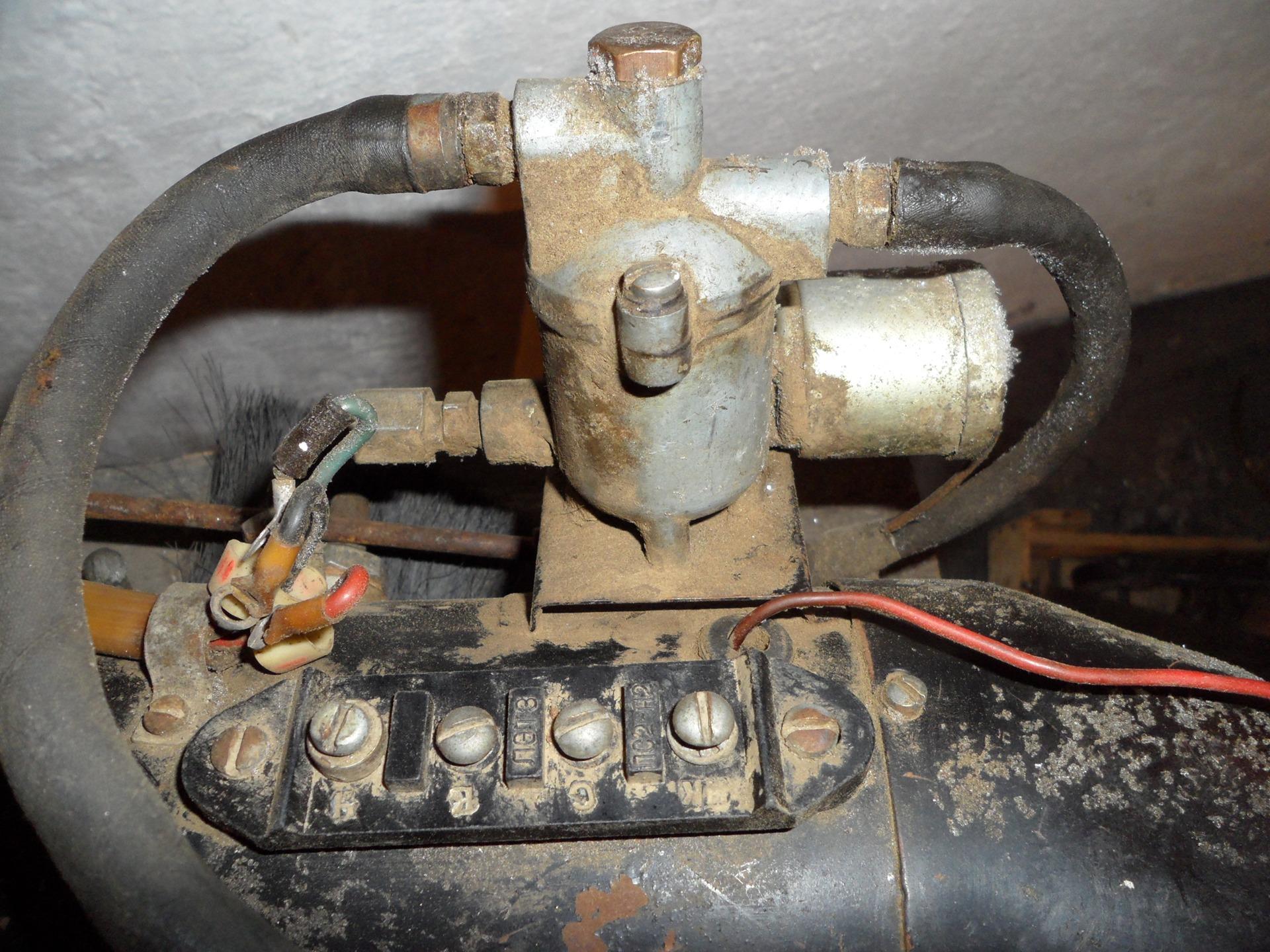 переделка запорожской печки на газ электрическая схема