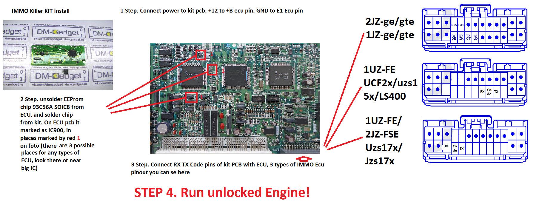 Toyota Supra Ecu Diagram Trusted Wiring Diagrams 2jz Pinout For The Fse Engine 94 Honda Civic Radio