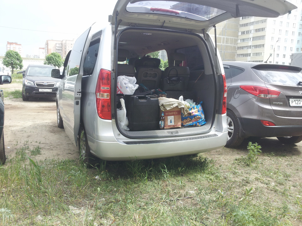 hyundai starex путешествие