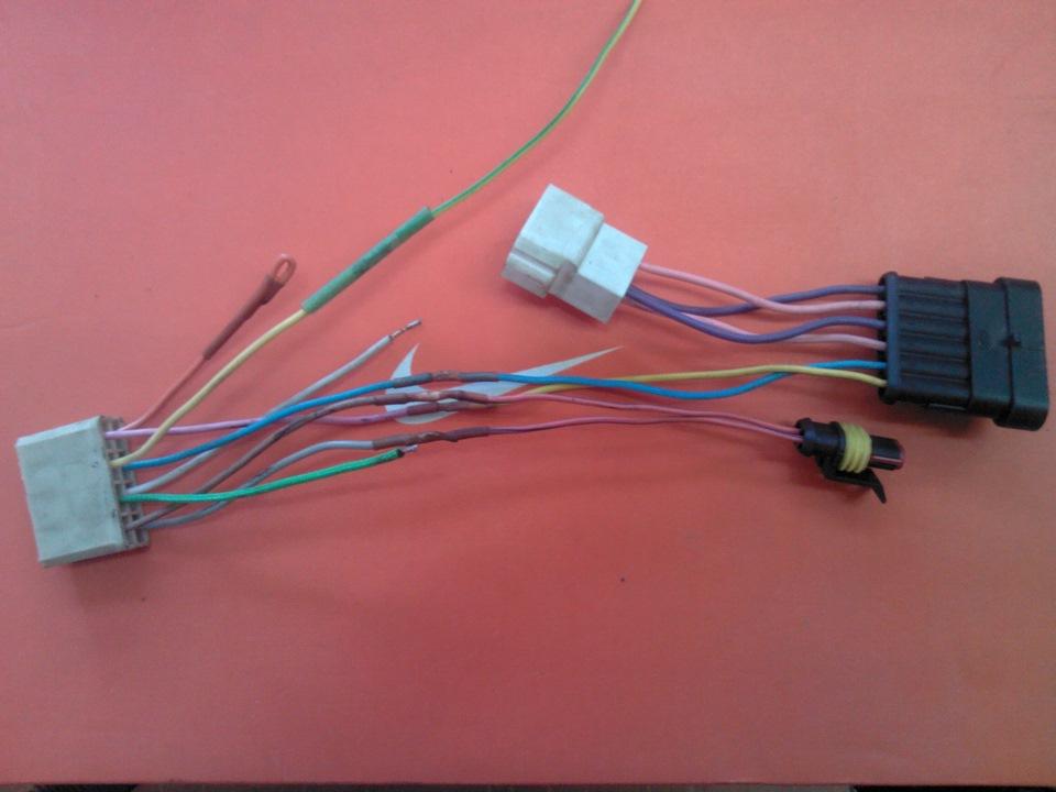 проводка 406 инжектор схема
