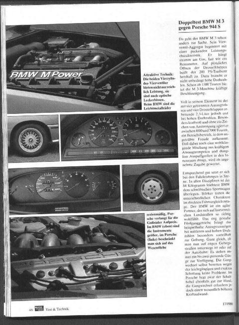 Привлекательные технологии: оба 16-клапанника не только выдают большую мощность, но и посмотреть на них приятно. Для BMW литые диски – стандарт, Porsche получает литые диски за доплату*. В BMW (вверху) приборов больше, в Porsche ограничились наиболее важными.