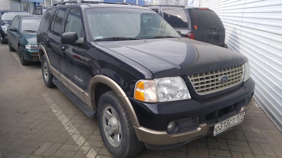 коробка передач ford explorer 2002