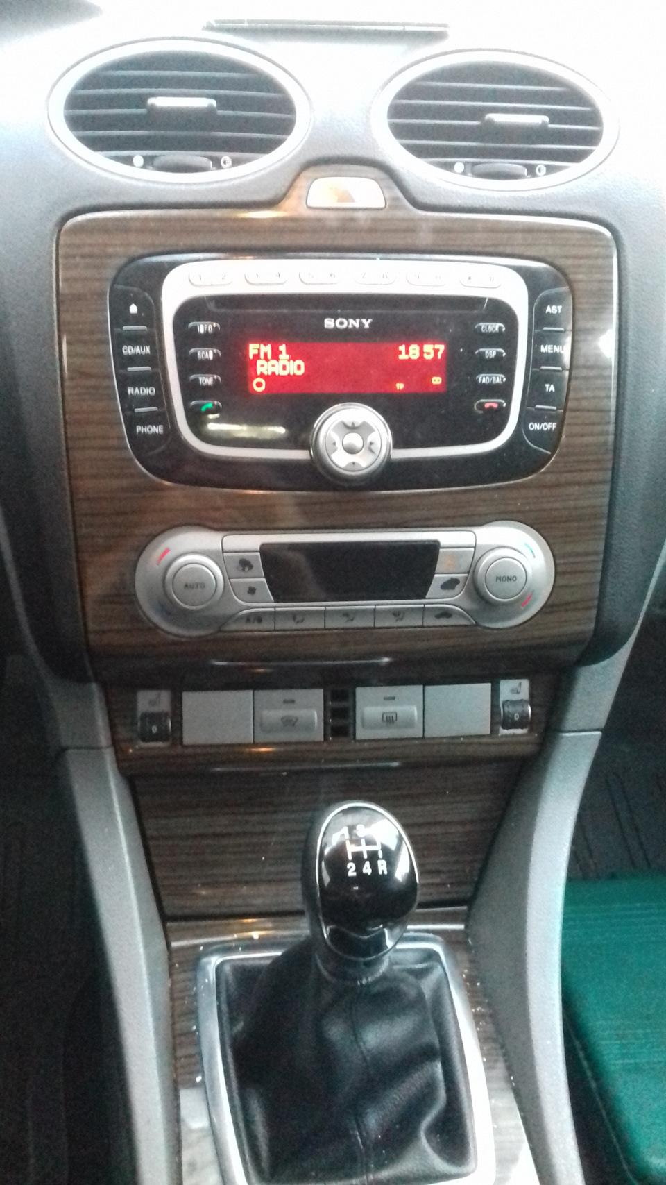 318b54es 960 - Центральная консоль форд фокус 2 рестайлинг