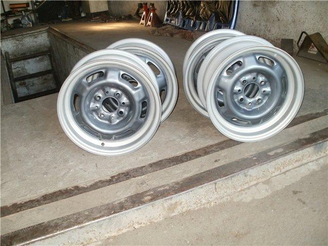 Как покрасить штампованные колесные диски