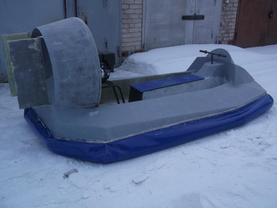 Как сделать для лодки воздушную подушку 793