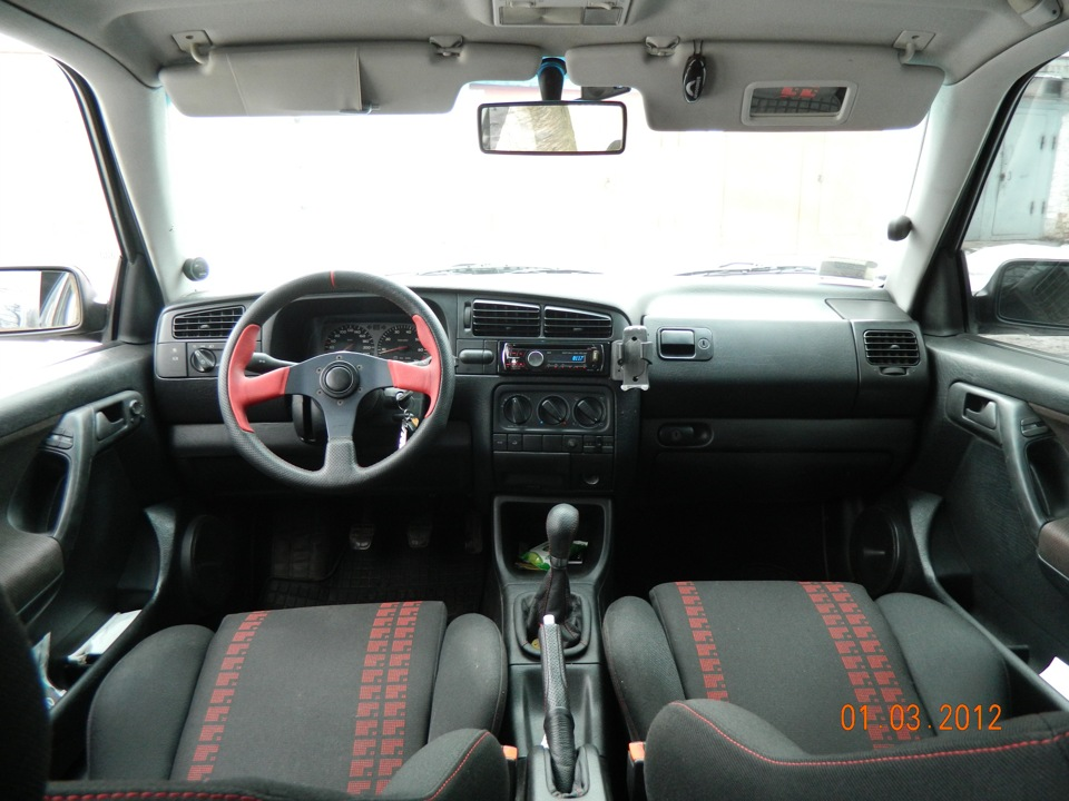 Volkswagen golf vr6 for Lederen interieur golf 4