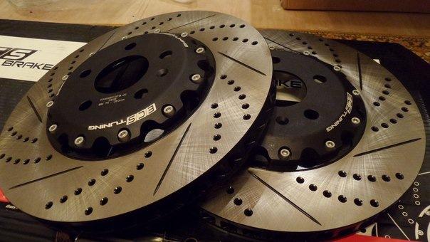 тормозные диски porsche cayenne diesel 985