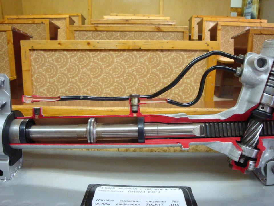 Ремонт рулевой рейки с гидроусилителем своими руками 100