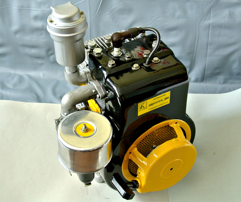 ремонт двигателя мотоблока каскад