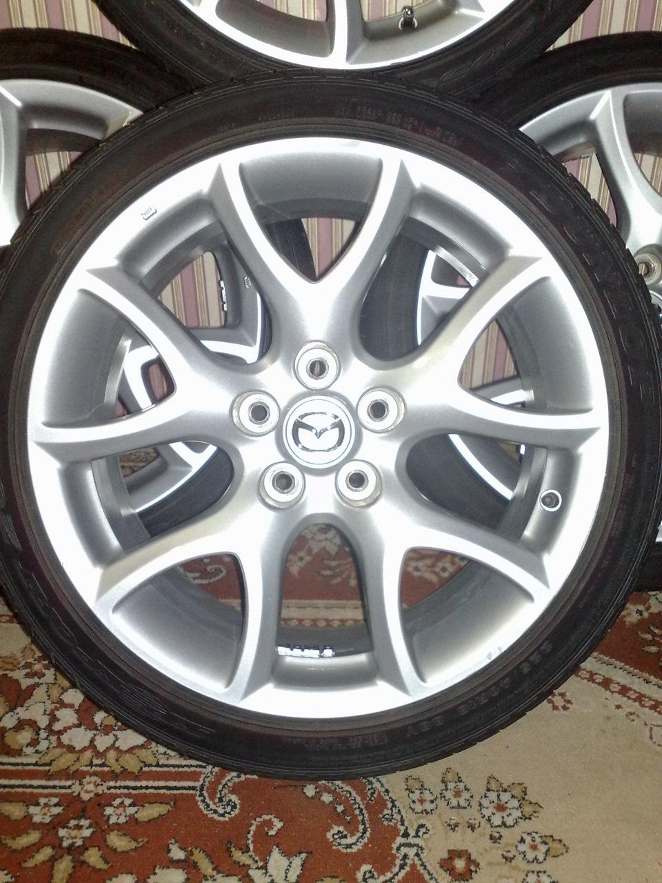 mazda 3 mps колеса