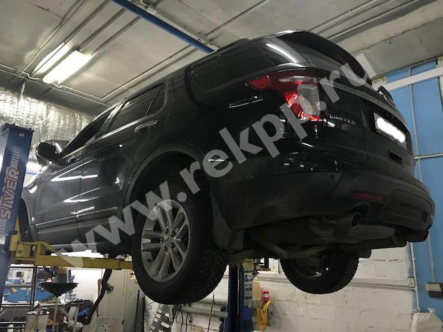 Замена раздатки эксплорер Замена стартера форд фиеста