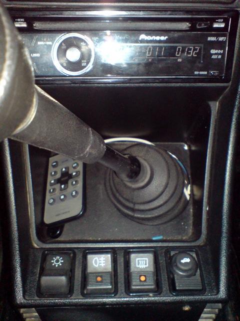 Кнопка открытия багажника от ВАЗ 2110.