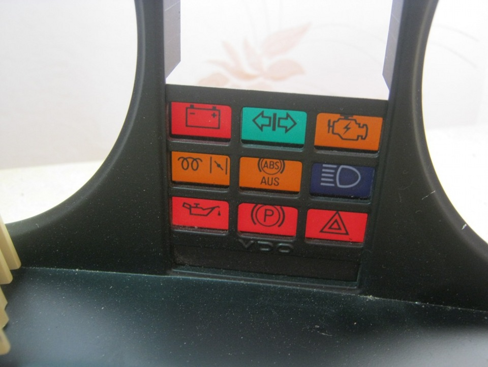 audi 80 1986г. индикаторы приборной панели
