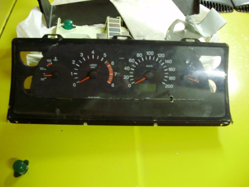 Фото №45 - панель приборов ВАЗ 2110 на ВАЗ 2107
