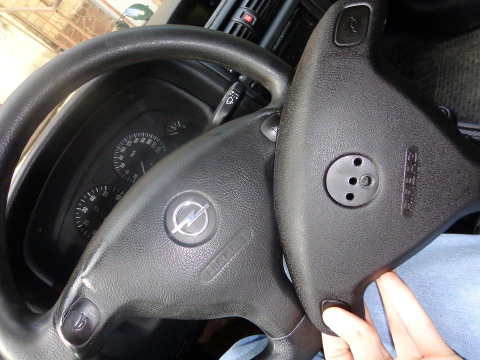 опель зафира 2008 г как снять руль