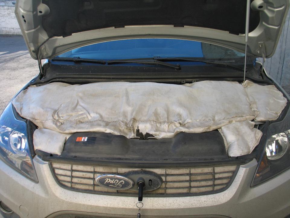 Как утеплить моторный отсек автомобиля своими руками 4