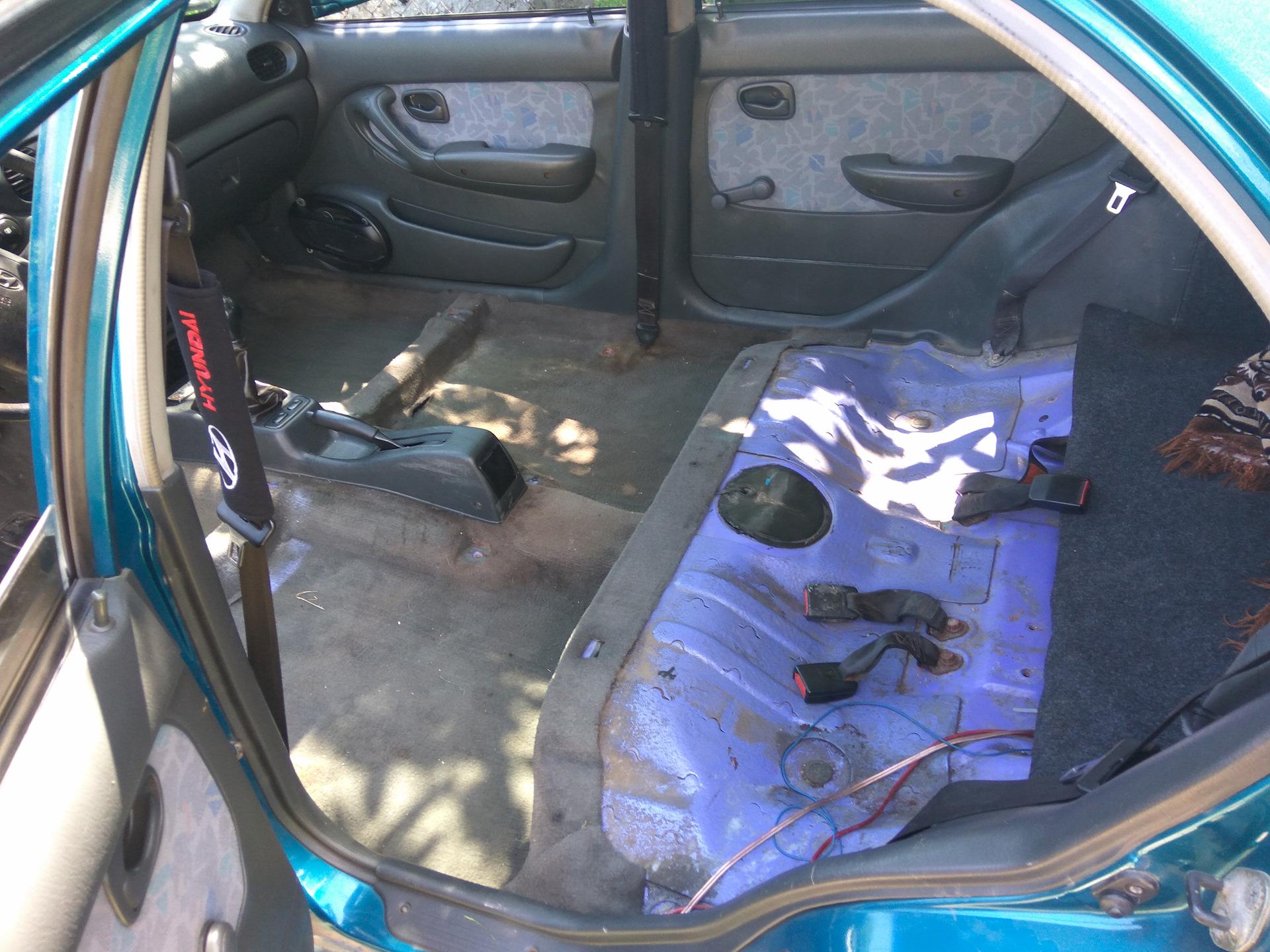 Самостоятельная химчистка салона — бортжурнал Hyundai Accent 1.5 GLS ... fa20192f80328