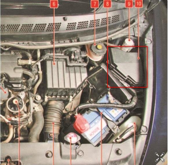 аккумулятор на honda civic 4d маркировка