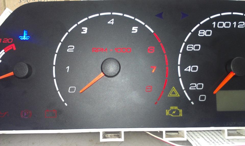 Фото №51 - приборная панель для ВАЗ 2110