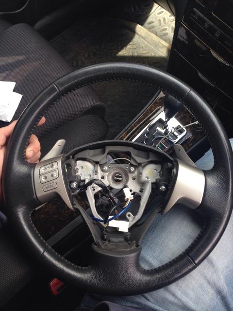 Кнопки на руль своими руками corolla