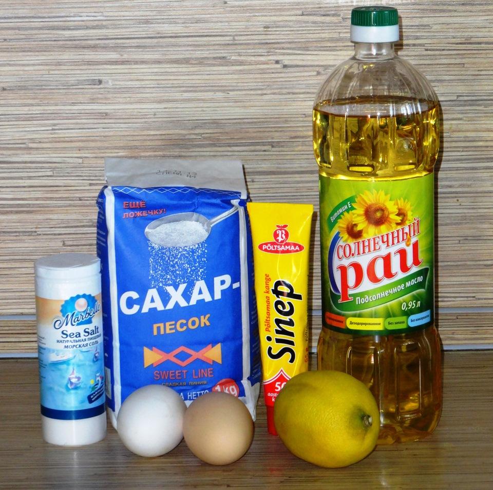 Рецепт приготовление майонеза