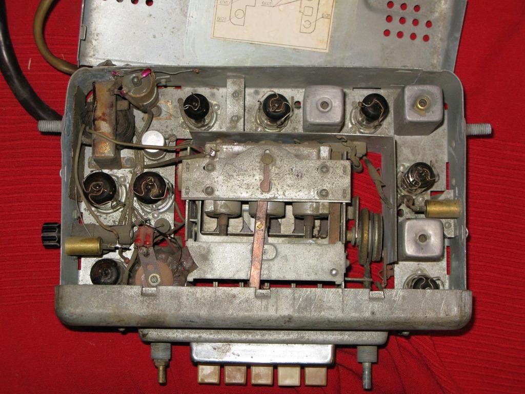 Приёмник газ 21 схема