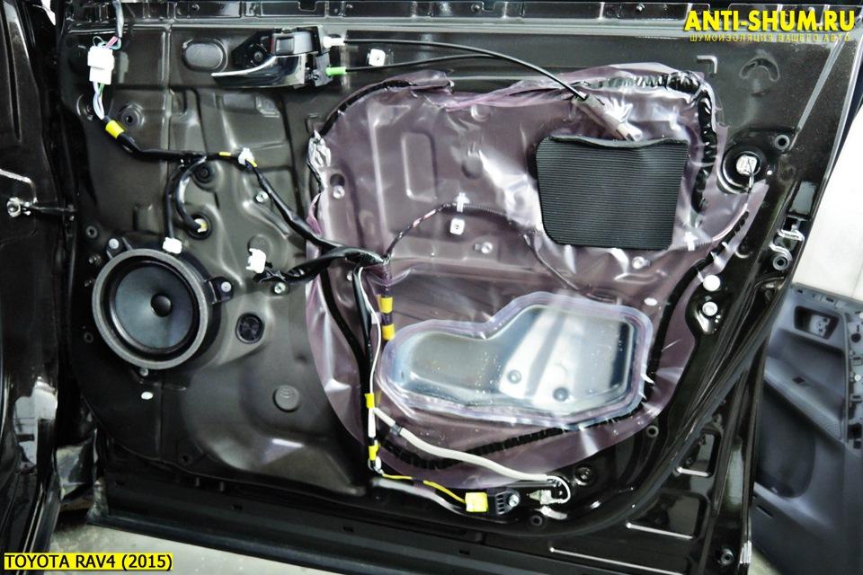 Тойота рав 4 шумоизоляция