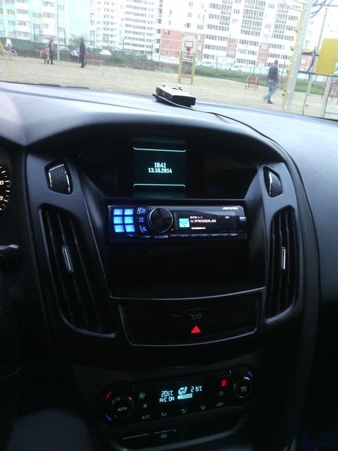 магнитола с подключением кнопок на руле ford