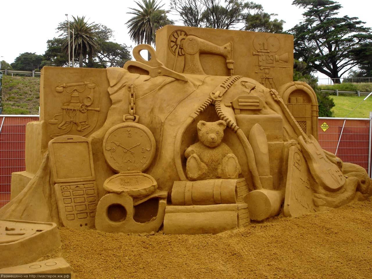 Картинка изделия из песка