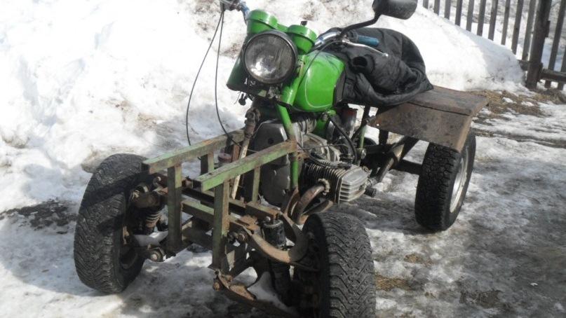БАРХАН самодельный квадроцикл