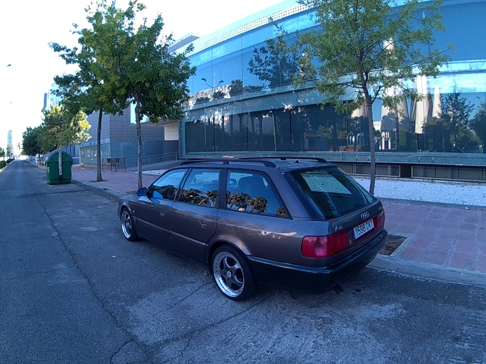 Audi A6 Avant 1.9tdi grande, bajo, pesado y lento de Sevilla 3344d2as-960
