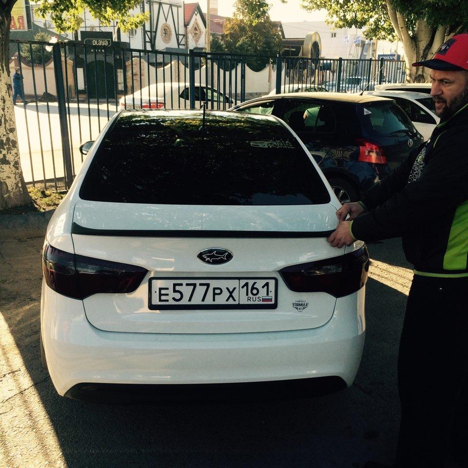 Парктроник для автомобилей KIA Rio | Интернет