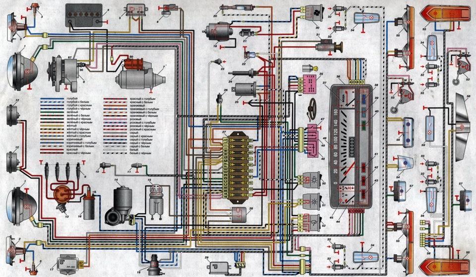 6 — генератор;