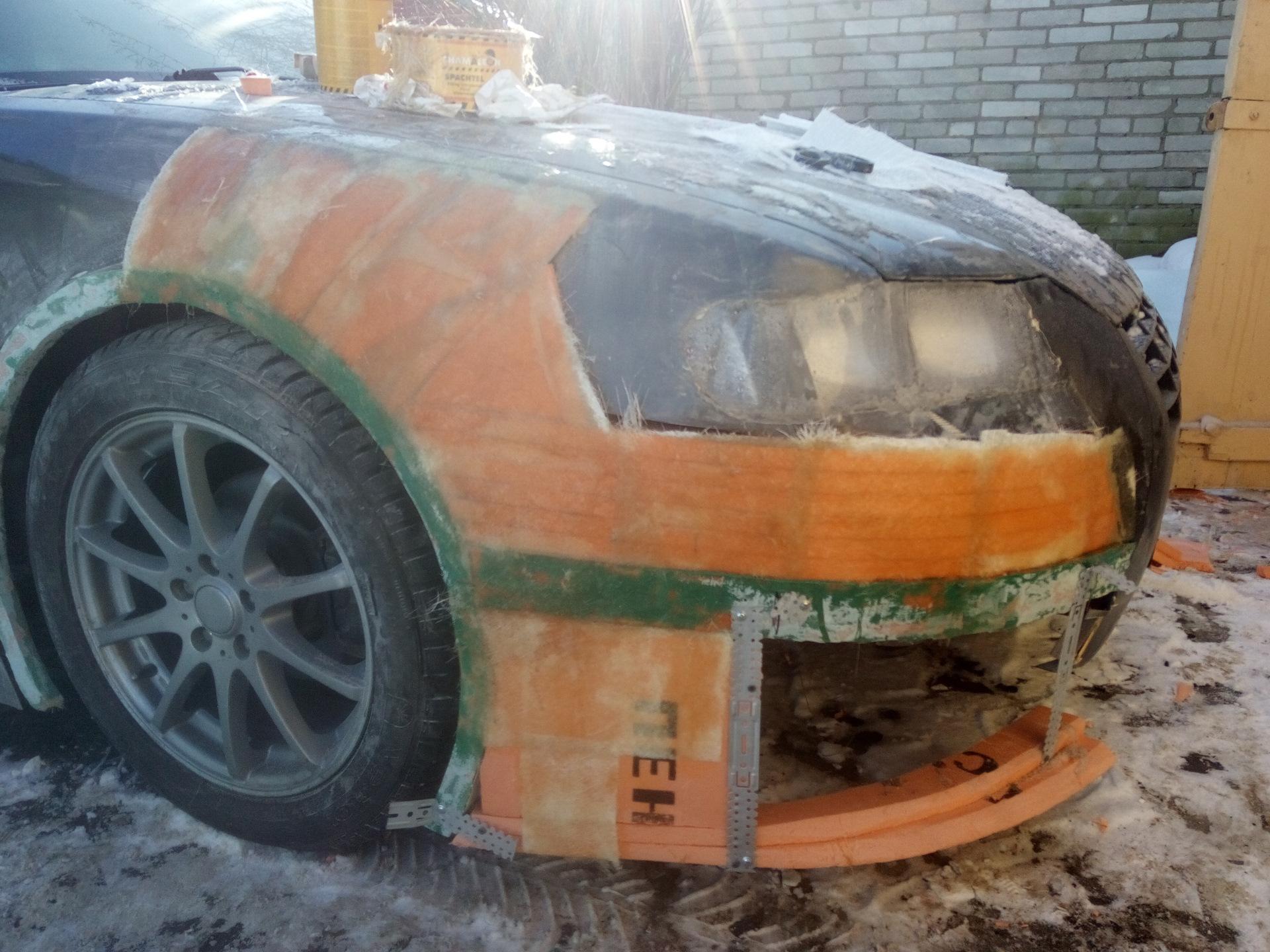 """Изготовление элементов кузова из стеклопластика - Сообщество """"Кузовной Ремонт"""" на DRIVE2"""