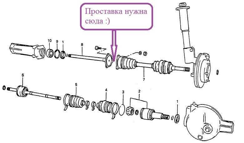 Кольцо витара гранд привода стопорное сузуки