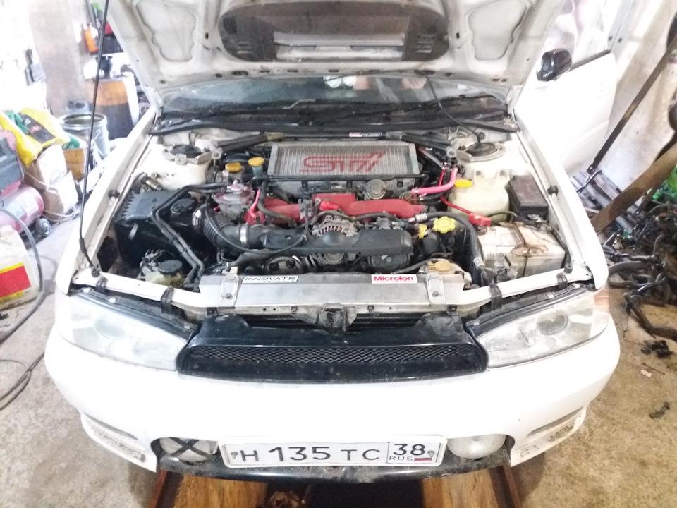 Subaru Legacy bd5 swap ej207 twinscroll день 4, 5 — DRIVE2