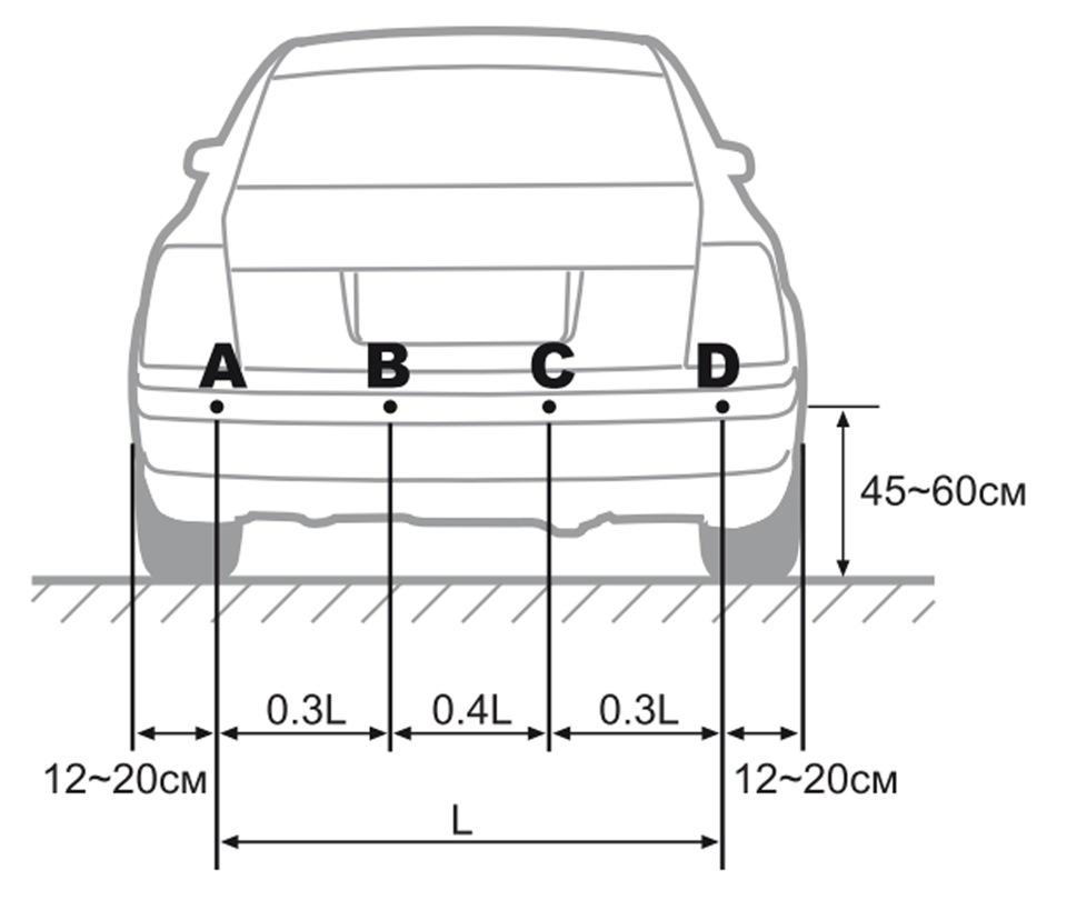 парктроник инструкция по установке - фото 8