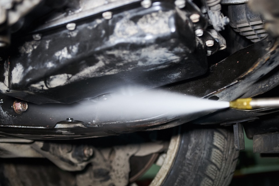 Очистка поверхностей картера АКПП Mazda 6