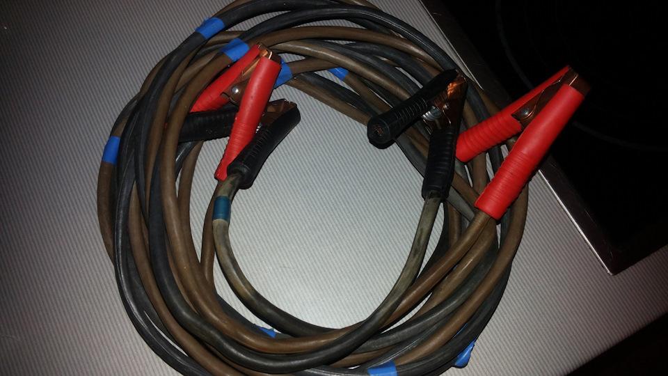 Провода для прикуривания как сделать 658