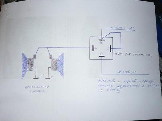 Схема подключения № 1