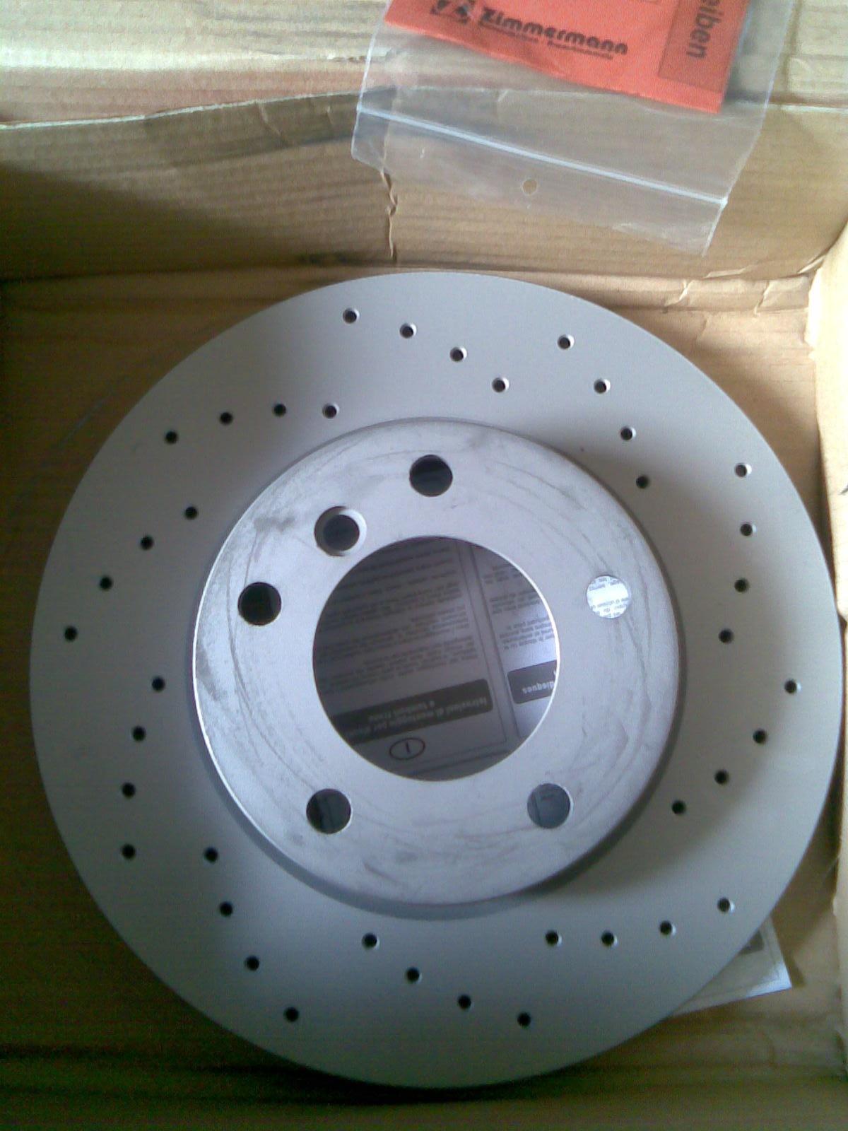 Фотография тормозной диск zimmermann 150128470