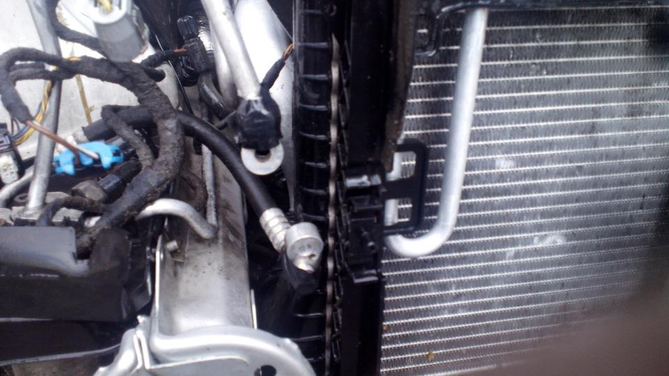 Новый радиатор печки можно считать установленным