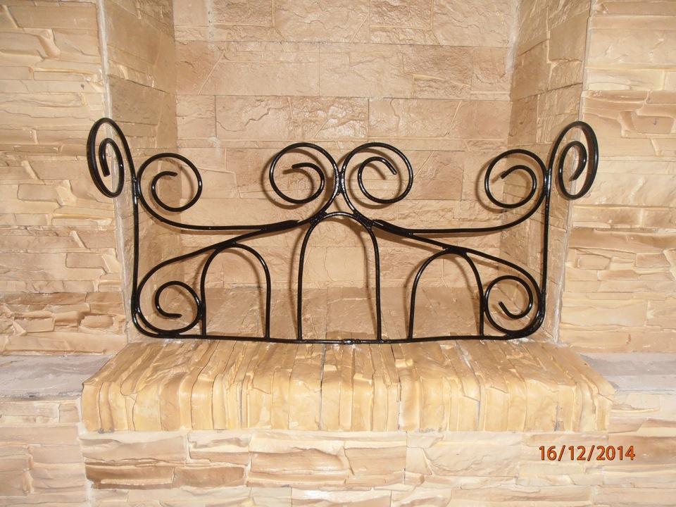 Декоративная решётка для камина своими руками