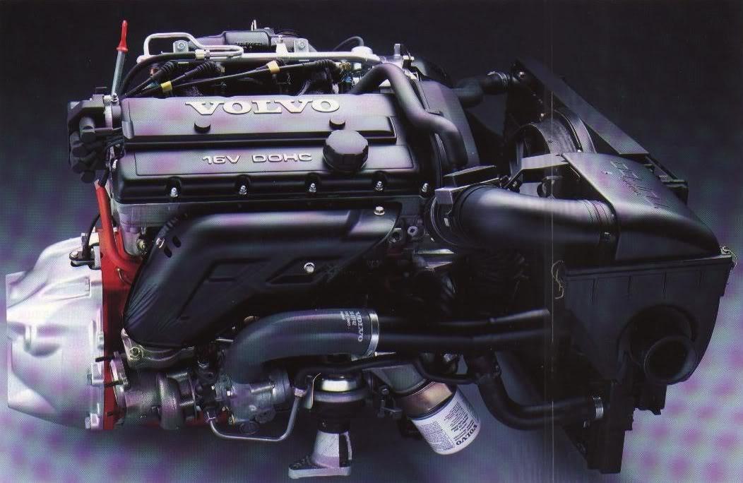 рядный двигатель 16 клапанный вольво