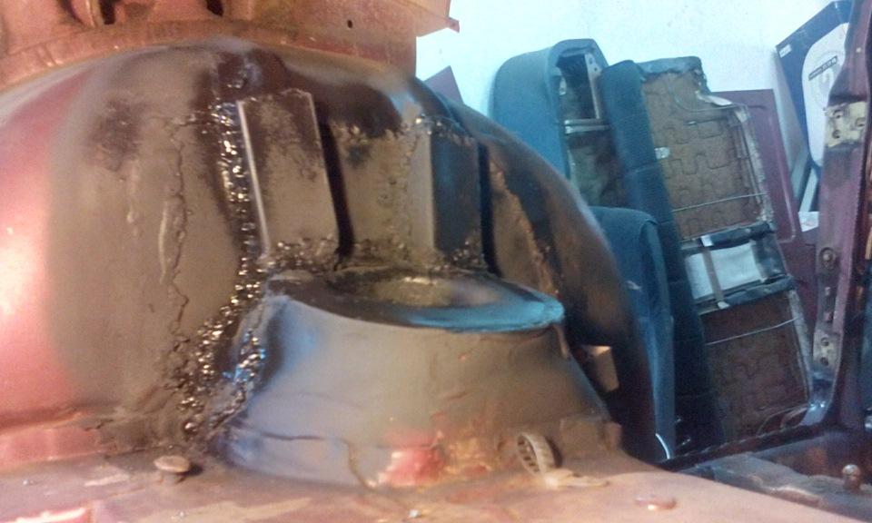 Ремонт кузова ваз 2110 своими руками латаем дыры