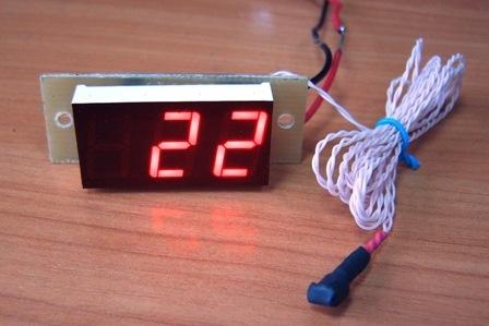 Установка автомобильного термометра своими руками 91