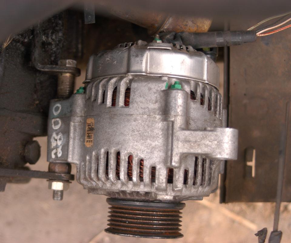 Примерка генератора.