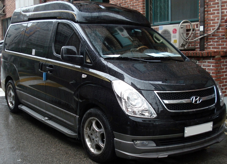 hyundai h-1 grand starex limousine