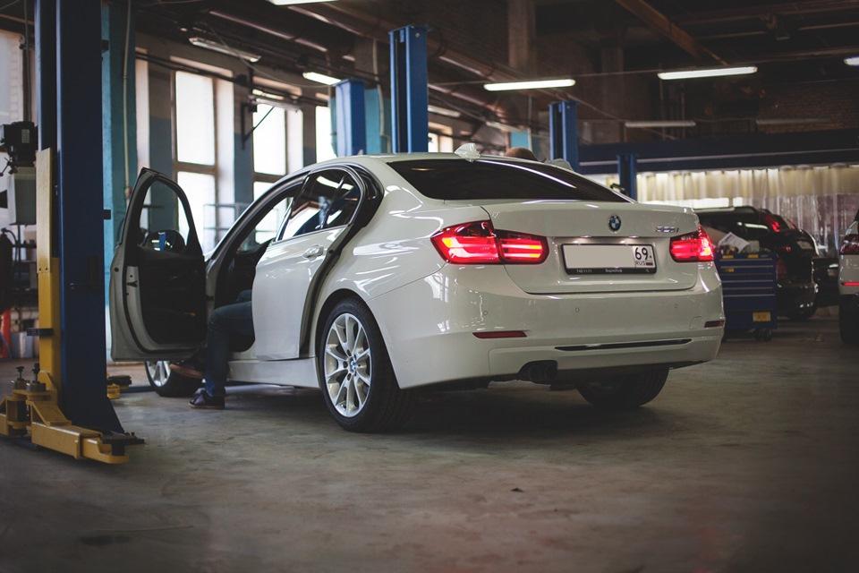 Установка COMBOX на BMW 3er F30 — BMW Запад на DRIVE2