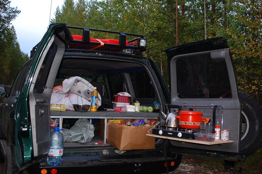 Кухня в автомобиле своими руками 45